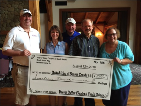 2016 Golf Outing Check
