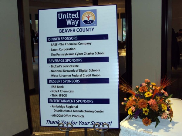 United Way of Beaver County Holds Annual Leaders Reception